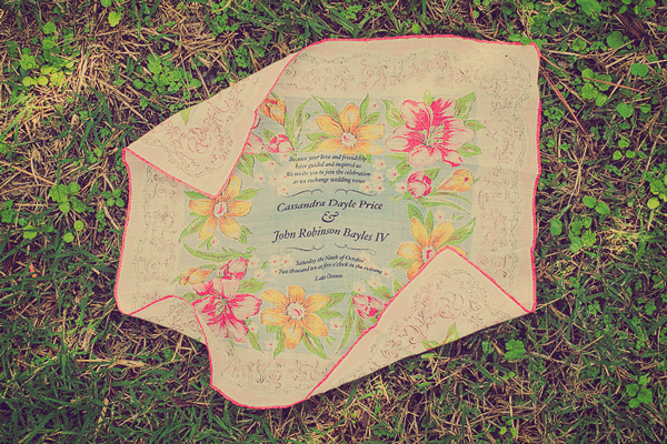 John & Cassandra's Wedding Invitations