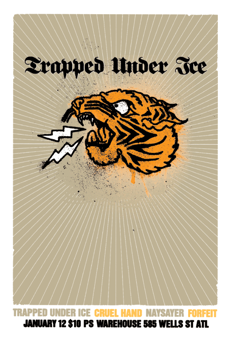 Trapped Under Ice Poster