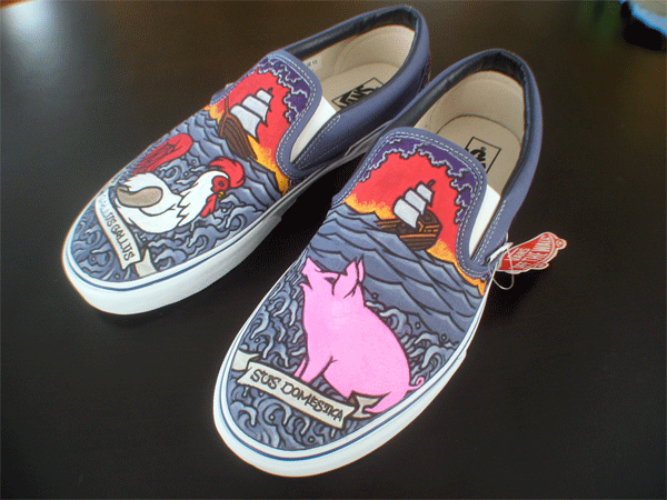 Hand Painted Custom Vegan Shoes By Tony Price Tonyxprice Com